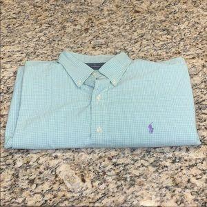 Men's Polo by Ralph Lauren Plaid Dress Shirt